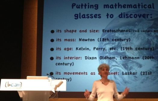 Christianne Rousseau - Mathematicas of Planet Earth