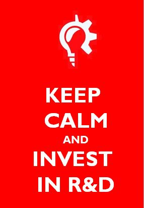 KeepCalm and Invest in R&D