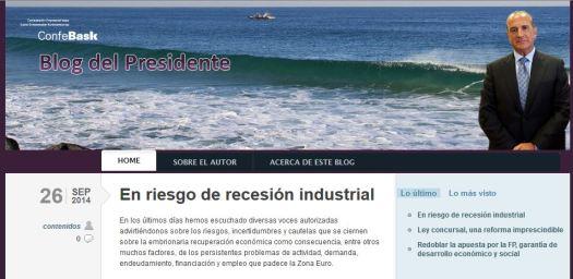 En riesgo de recesion industrial