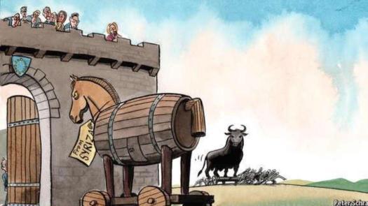 syriza troya