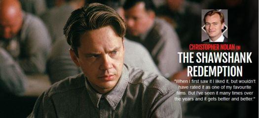 Nolan on Shawshank