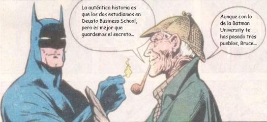 Batman y Sherlock