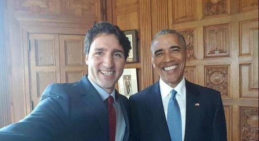 Justin & Barack